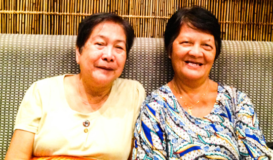Isabelita I. Castillo and Rosueta G. Tuazon.
